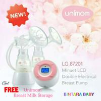 Pompa Asi Unimom Elektrik Minuete LCD Double Electric Breast Pump