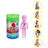 Boneka Mattel Barbie Chelsea 6 Surprise Color Reveal Foodie Theme Doll