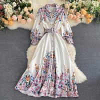 DRESS IMPORT BANGKOK BKK VINTAGE PREMIUM WITH BELT