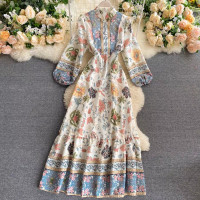 DRESS IMPORT BANGKOK BKK MOTIF BATIK
