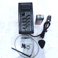 preamp EQ 7545 R - pick up gitar akustik Eletrik - Equalizer 7545R
