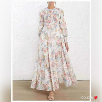 DRESS IMPORT BANGKOK BKK PREMIUM FLOWY