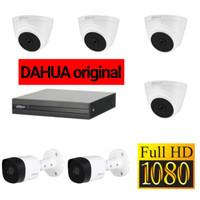 PAKET CCTV DAHUA 6CH FULL HD CCTV 2MP DAHUA HDD 500GB LENGKAP