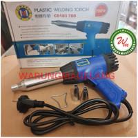 Heat Hot Air Gun C-Mart 700 Low Watt Plastic variable Welding Torch