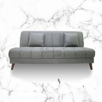 Sofabed / Sofa Bed Onyx Fabric Grey
