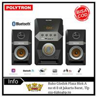 POLYTRON PMA 9502 Active Speaker with Bluetooth karaoke