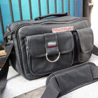 Shoulder Bag Nikon Original Tas Kamera Nikon 2 Lensa