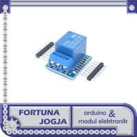 Modul Relay Shield IoT Wemos D1 Mini ESP8266