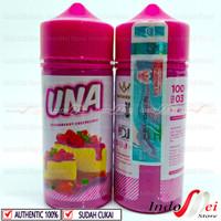 UNA STRAWBERRY CHEESECAKE BY IDJ 3MG - 100ML PREMIUM E LIQUID