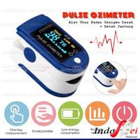 Oximeter Oxymeter pulse FINGERTIP UKUR Oksigen darah -detak jantung