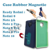 Case Rubber Mahnetic For Note 5 Pro / Note 8 Pro / Note 9 Pro Xioami