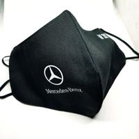 Masker Kain 3ply Mercedes Benz seri W