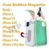 Case Rubber Mahnetic For IPHONE 6/XS MAX/11