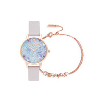 Under The Sea Gift Set With Under The Sea Rose Gold Bracelet OBGSET142