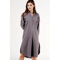 Midi Dress / Erry Dark Grey Dress 73072T5DG - Bodytalk