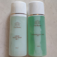 Paket NS1-01 oily I'm Beauty - im beauty by Immortal acne isi 2