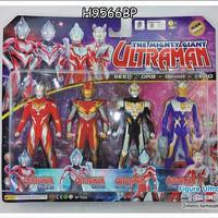 Mainan Ultraman Geed Orb - Ginga Zero 9566 SNI