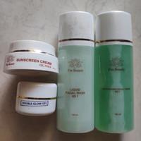 I'm Beauty paket NS1 oily skin double glow gel isi 4 - flek sedang
