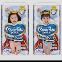 MURAH! MAMYPOKO PANTS ROYAL SOFT M42 / L34 - M42 Girls