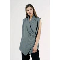 Cardigan Wanita / Venecia Grey Outer 61019T8GY - Bodytalk