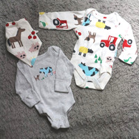 Jumper newborn M&S edisi farm animal