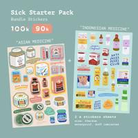 Moon Pancake Sick Starter Pack Sticker