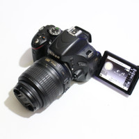 kamera dslr nikon d5100 kit 18 55mm vr bonus tas