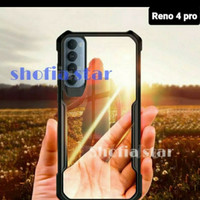 Softcase Clear Armor Bumper Transparent OPPO RENO 4 PRO New 2020