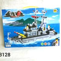 Brick Lego Chaobao Kapal Perang Destroyer