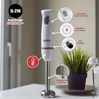 IDEALIFE Hand Blender Tangan Blender Bumbu Penggiling Mixer IL-214