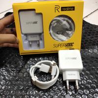 CHARGER REALME SUPER VOOC USB C CASAN REALME FAST CHARGING 4A USB C