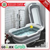 Bak Mandi Bayi Lipat Foldable Baby Bathtub 60 x 40CM 11L