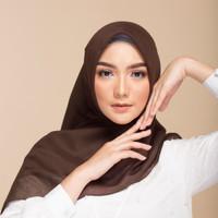 Elzatta kerudung polos keisha jilbab original segiempat segi empat