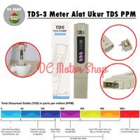 TDS / TDS-3 Meter Alat Ukur Hidroponik Air Aquarium ppm nutrisi Kolam