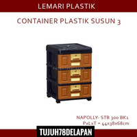 Lemari Plastik Napolly 3 Susun STB 300