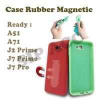 Case Rubber Mahnetic For A51 / A71 / J2 PRIME / J7 PRIME / J7 PRO