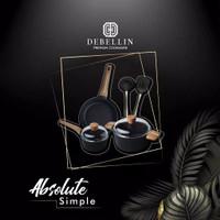 Debellin Absolute Granite Simple Stahl Set Premium Cookware Original