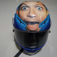 Helm Agv Full Face Muka Rossi