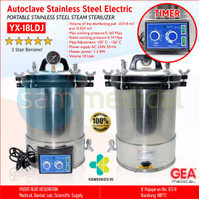 GEA Autoclave Stainless Steel Electric (TIMER) 18 Liter YX-18LDJ