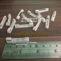 Peniti Plastik 3.5cm Peniti Name Tag Papan Nama Dada Acrylic Peniti