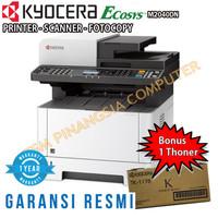 Mesin Fotocopy Kyocera ECOSYS M2040dn + Free Cartridge / Bonus Toner