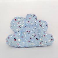 Bantal Bayi Cloud / Awan (100% Katun & Lembut) - Biru