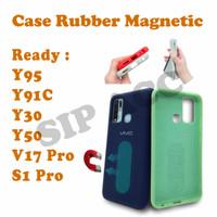 Case Rubber Mahnetic For Y95 Y30 Y50 V17 S1 Pro Vivo Casing Anti Noda