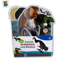 buku cerita anak - Paket seri hewan indonesia yang dilindungi 3 buku