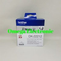 Brother Label Tape DK-22212 Continuous Length Film White Tape