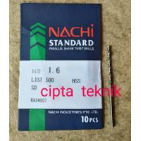 Mata Bor Besi Nachi 1,6mm - Matabor Besi Nachi 1.6mm