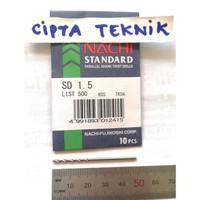 Mata Bor Besi Nachi 1,5mm - Matabor Besi Nachi 1.5mm