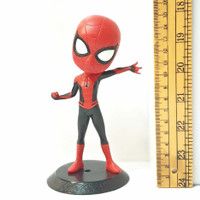 Action Figure Spiderman Q Posket Pajangan Koleksi Topper Kue