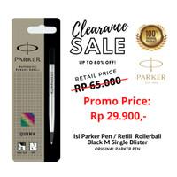 isi Parker Pen / Refill Rollerball / Signpen Black M Single Blister