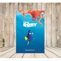 Buku DIsney Finding Dory Sebuah Novel baru dan segel
